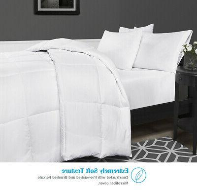 Down Comforter Insert All Soft Microfiber