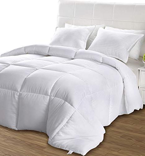 Utopia Bedding Comforter - Ultra Soft Down Plush Insert -
