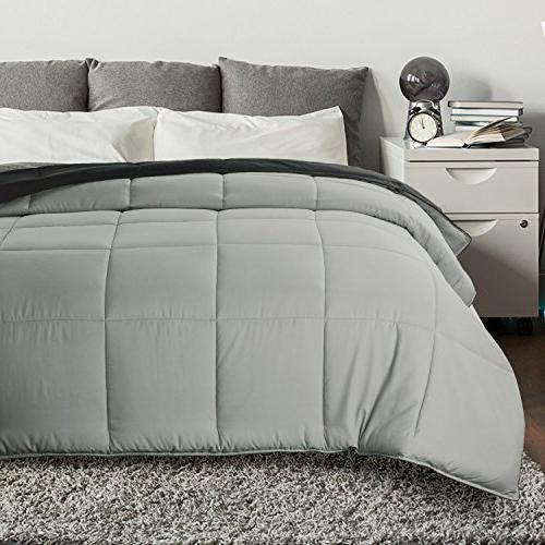 Bedsure Alternative Queen/Full Size Reversible Comforter Duvet