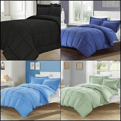 down alternative comforter set all colors