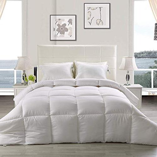 Utopia Bedding Comforter - Down Plush Siliconized Fiberfill Insert