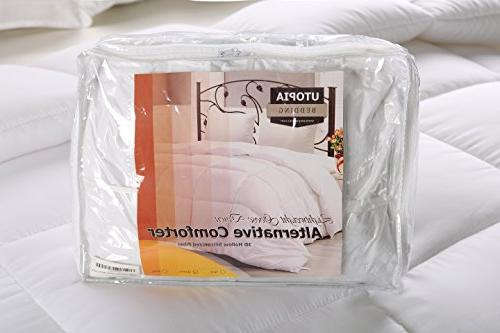 Utopia Bedding Comforter Soft Down Comforter Plush Insert Box