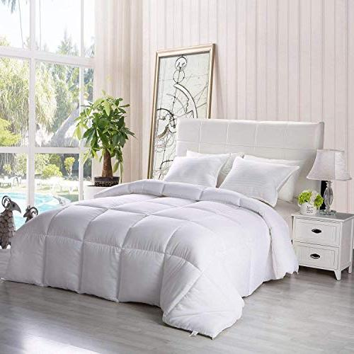 Utopia Bedding Season Comforter Down Alternative - Plush Fiberfill Duvet Insert