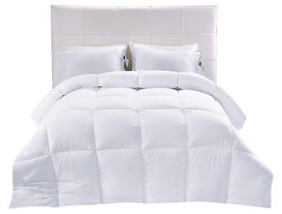 down alternative comforter white