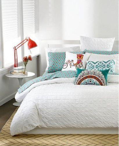 drea full queen comforter white standard