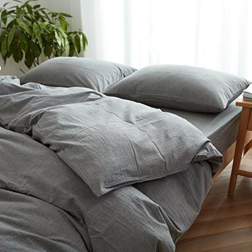 FACE Duvet Cover Queen,100% and Style Bedding