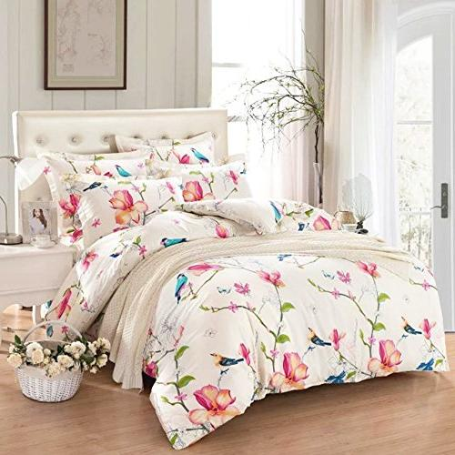c89a4a073 Wake In Cloud - Floral Comforter Set, Botanical