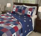 Quilt Set Full Queen 3Pc Duvet Cover Comforter Coverlet Beds