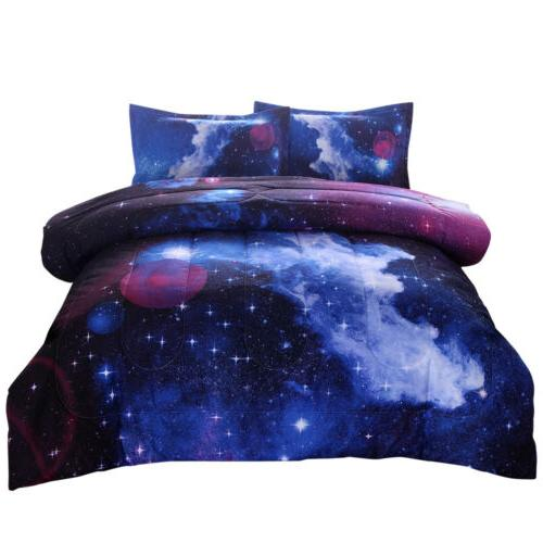 Galaxy Comforter Set Quilt Outer Bedding Sets