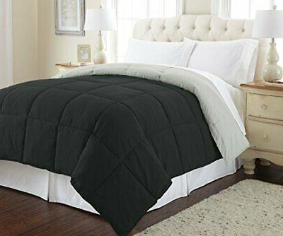 goose down alternative microfiber quilted