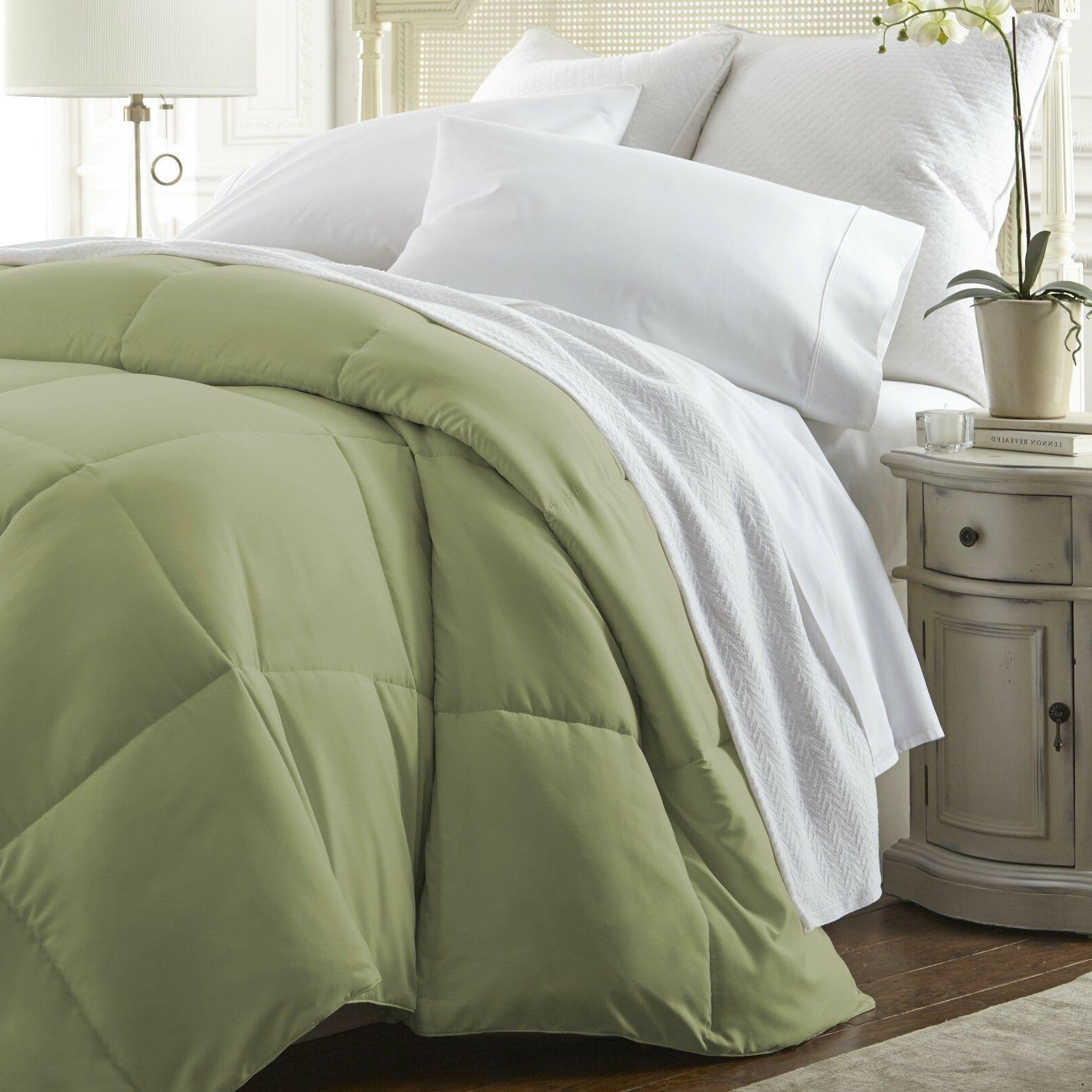 hotel quality down alternative comforter assorted colors