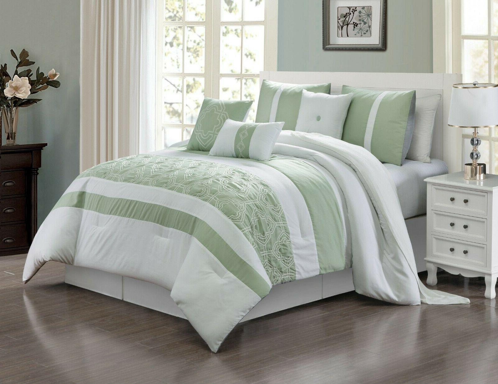 Queen Size Bed Comforter 7 Piece Bedding Sets – Ultra Soft