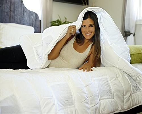 Climabalance #1 All Down Alternative Comforter Queen   Increases Phases Sensofill