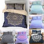 Indian Mandala Duvet Cover Bedding Blanket Queen King Quilt