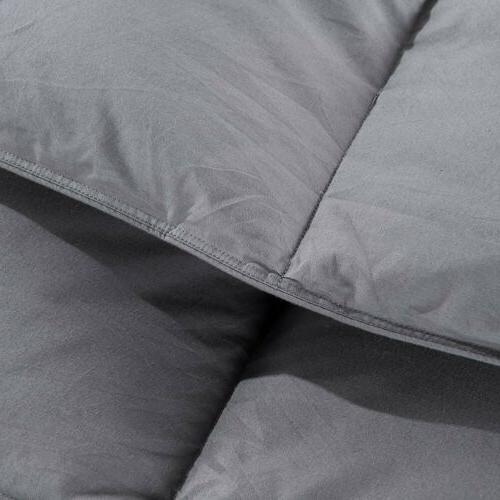 Luxury Goose Comforter Size Bedding