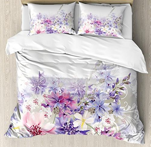lavender duvet cover set
