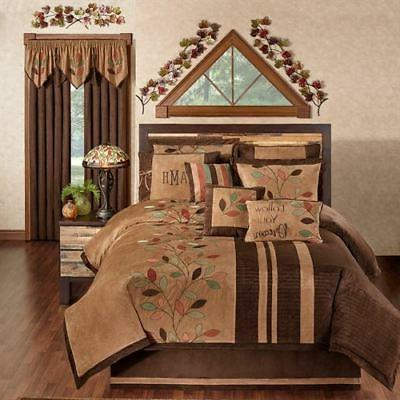 leafbrook comforter set and accessories