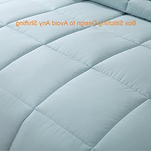 Homelike Moment Lightweight Comforter All Microfiber Full/Queen with Tabs