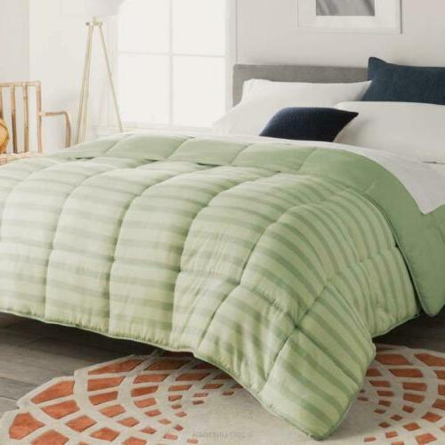 Luxurious Goose Alternative Comforter 1200 Thread 100% Cotton Cover