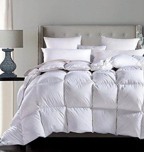 luxurious seasons goose down comforter