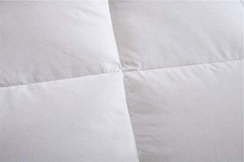 ROYALAY Luxurious All-Seasons Goose Comforter-Solid, Lightweight Thread Count Cotton