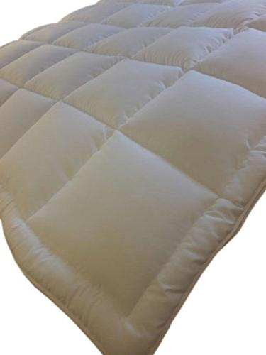 Luxury All Seasons Down Alternative Duvet with Plush Siliconized Stitched