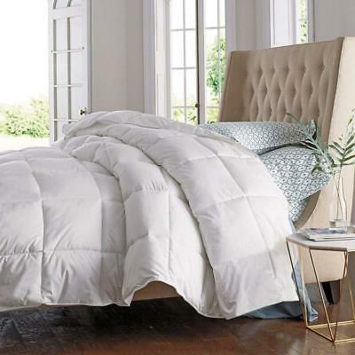 Premium Goose Down Feather Comforter Duvet Cover Insert Twin