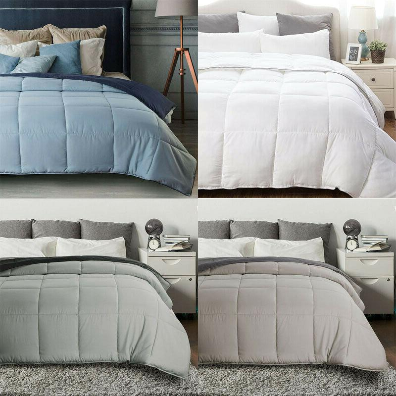 luxury soft down alternative comforter queen king