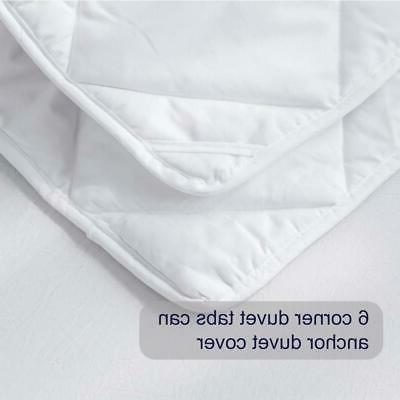 Luxury All Goose Down Comforter Bedding Set Quilted US