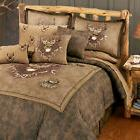 Marshfield Whitetail Ridge Deer Comforter Bed Set~4 Pc Queen