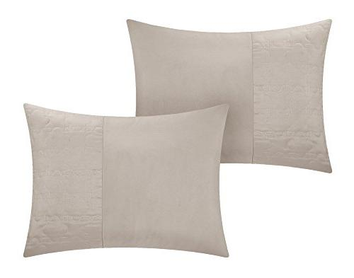 Chic Piece Comforter Taupe