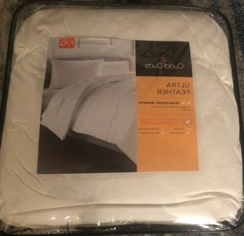 new comforter full queen ultra feather light