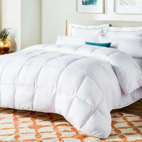 New Down Alternative Comforter Bed Cover Set KING QUEEN TWIN
