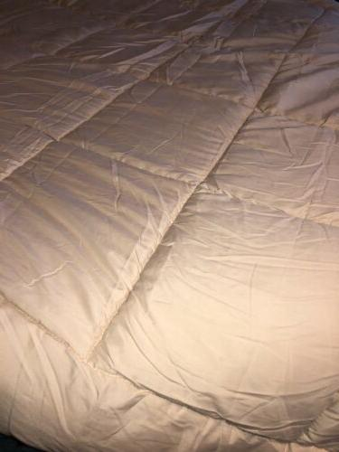 New Goose Down Comforter Queen Sweet Collection NATURAL