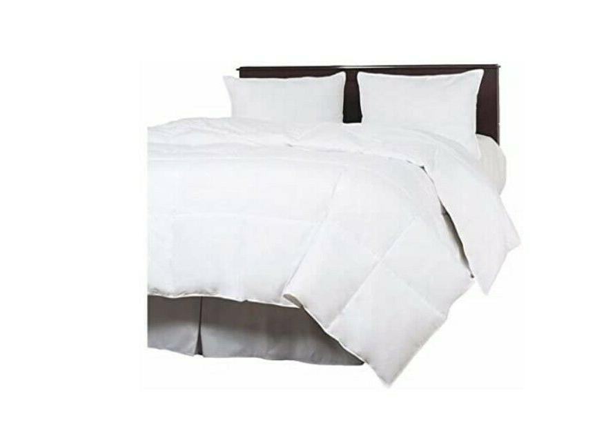 new home down blend overfilled bedding comforter