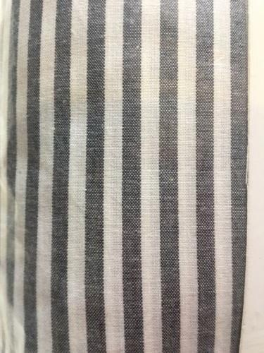 IKEA Cover 2 Shams Set Gray STRIPE NEW