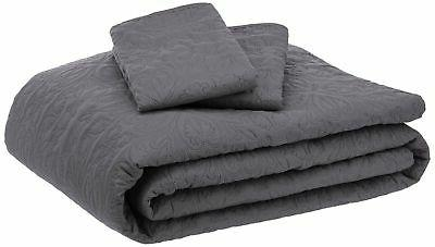 oversized quilt coverlet bed set king dark