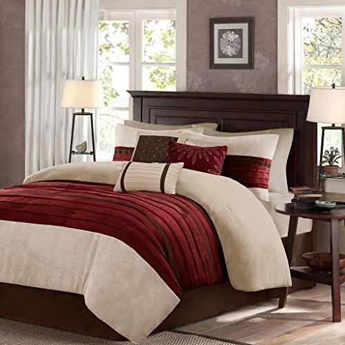 palmer comforter set red queen