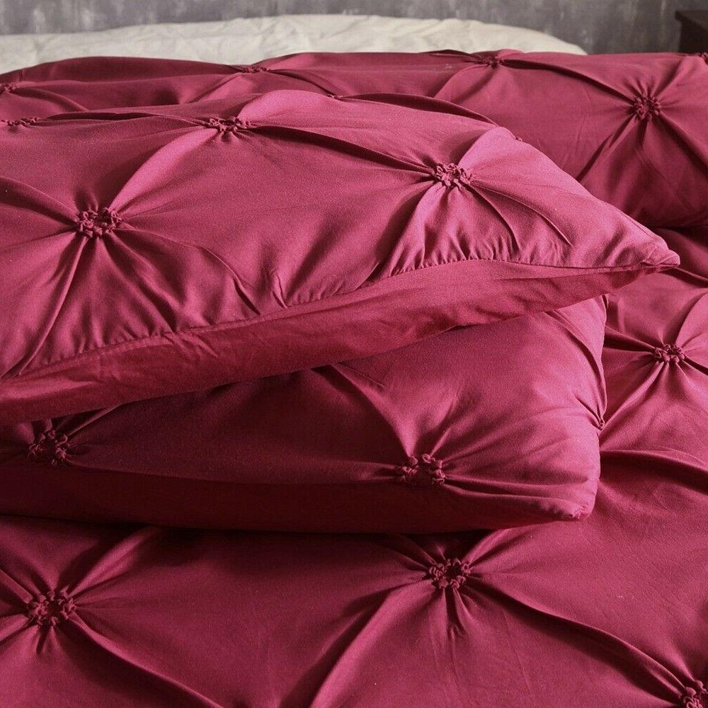 Pinch Cover Queen King Bedding Set