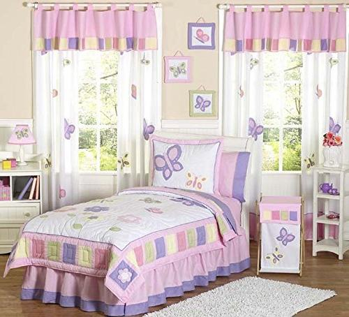 pink purple butterfly collection children