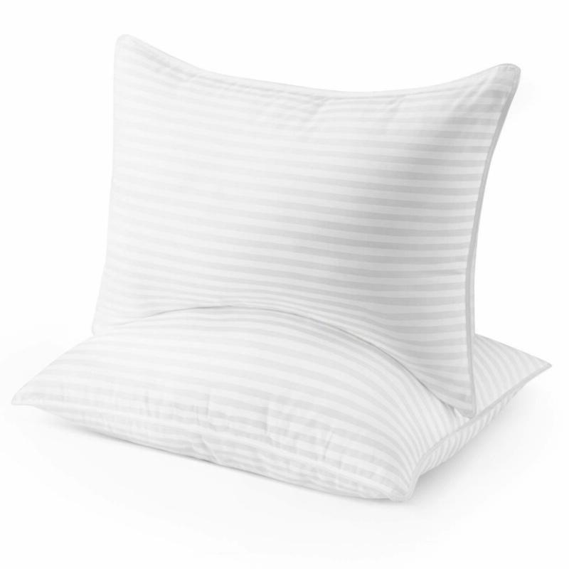 Plush Gel Pillow 2 Pack Queen Soft And Comfortable For Bedro