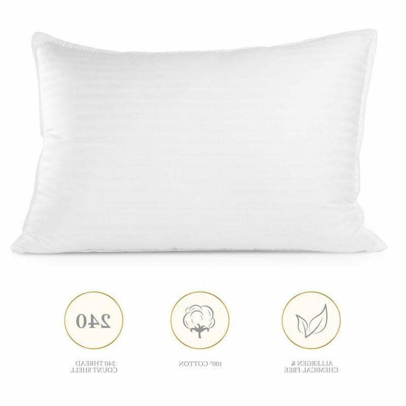 Plush Gel 2 Pack Queen Soft And Comfortable Bedroom Home Accessories