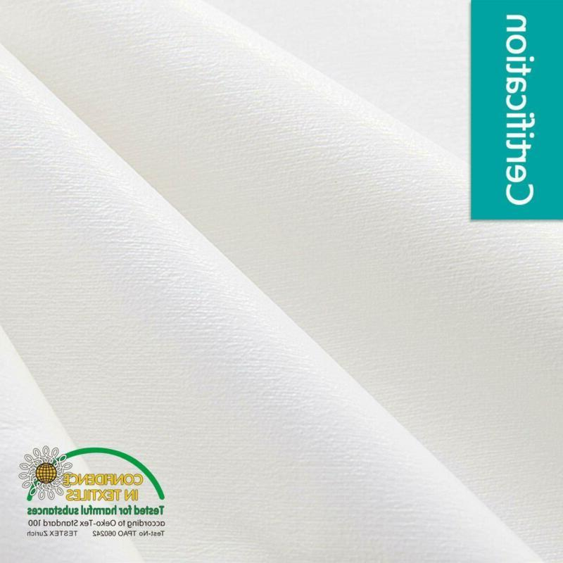 Balichun King- Solid White Soft Thread Count Cotto