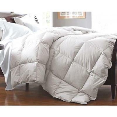 Queen King Down/Feather Comforter 95/5 Year Round Thick Heav