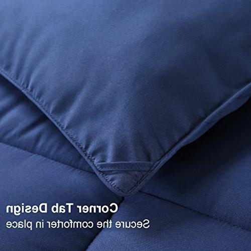 EASELAND Soft Alternative Comforter Collection with Fluffy Hypoallergenic for by