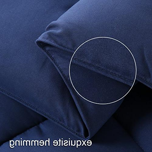EASELAND Soft Alternative Quilted Comforter Collection Reversible with Corner Hypoallergenic All by