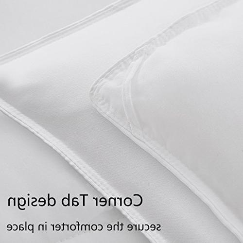 Queen/Full Alternative Cooling Luxury Hotel Duvet Insert with Corner Ties,Warm Hypoallergenic for All by 88