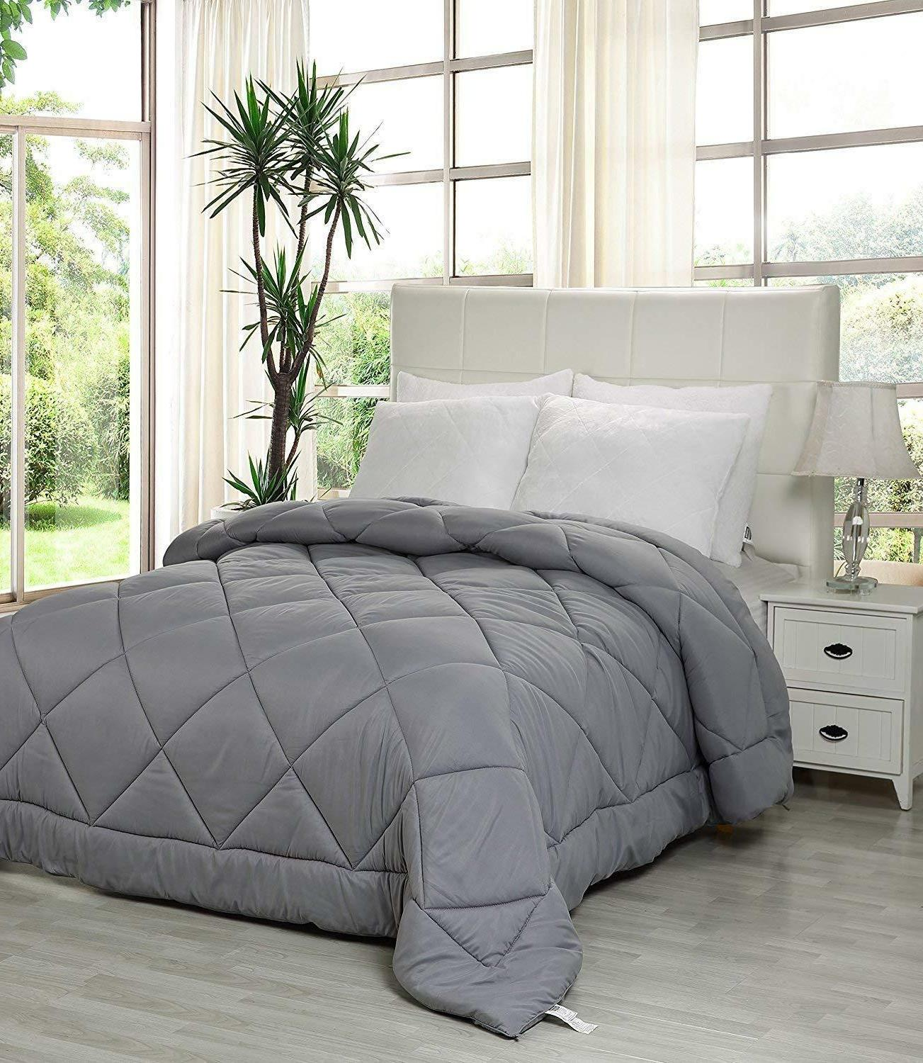 Utopia Bedding Quilted with Tabs - Plush