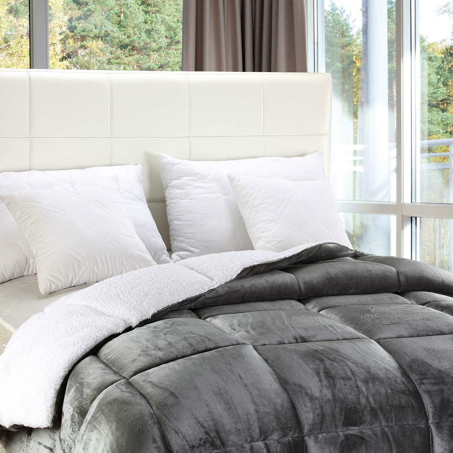 All Sherpa Comforter