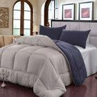 Super Soft Duvet Down Alternative Comforter Set  Insert Wash
